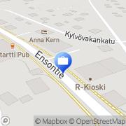 Kartta Otto. käteisautomaatti Imatra, Suomi