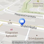 Kartta Tapiola-ryhmä Savonlinna, Suomi