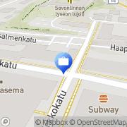 Kartta Pohjola Savonlinnan toimisto Savonlinna, Suomi