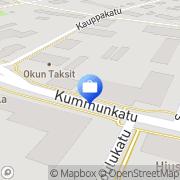 Kartta OP-Pohjola-ryhmä, Outokummun Osuuspankki Outokumpu, Suomi