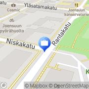 Kartta Tapiola-ryhmä Joensuu, Suomi