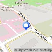 Kartta Otto. käteisautomaatti Joensuu, Suomi