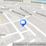 Kaart Vrijwillige Thuiszorg Zeeuws-Vlaanderen Terneuzen, Nederland