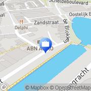 Kaart ABN AMRO Terneuzen, Nederland