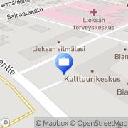 Kartta Henki-Fennia Lieksa, Suomi
