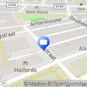 Kaart Vendu Notarishuis BV Antiek Veilingen Rotterdam, Nederland