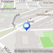Kaart Essalam Moskee Stichting Rotterdam, Nederland