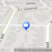 Kaart Bom Adviesbureau vd Castricum, Nederland