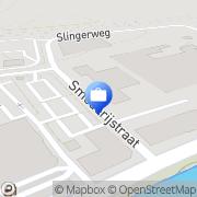 Kaart Steens & Partners Accountants en Adviseurs Breda, Nederland