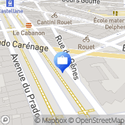 Carte de Groupama Assurances Marseille, France