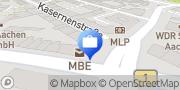 Karte beratungsservice-ac gmbh Aachen, Deutschland