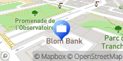 Carte de BLOM BANK (Switzerland) SA Genève, Suisse