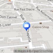 Carte de CIC, Banque CIC Est Metz, France