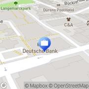 Karte ERGO Versicherung Dennis Kehl Düren, Deutschland