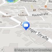 Karte Hoffmann Immobilien Moers, Deutschland