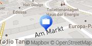 Karte R+V Versicherung Dillingen/ Saar, Deutschland