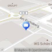 Karte Heine & Hecker Immobilien Neuss, Deutschland