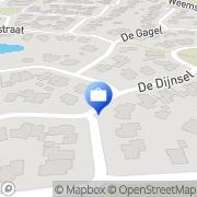 Kaart Tukkerstocht Albergen Stichting Albergen, Nederland