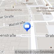 Karte Mecklenburg + Hoffmann GmbH Düsseldorf, Deutschland