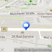Karte Deutsche Bank SB-Stelle Köln, Deutschland