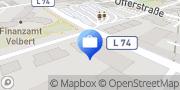 Karte AOK Rheinland/Hamburg - Geschäftsstelle Velbert Velbert, Deutschland