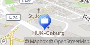 Karte HUK-COBURG Versicherung Daniela Schütte in Velbert Velbert, Deutschland