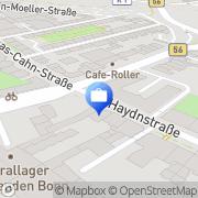 Karte Simon & Kucher und Partners Strategy Bonn, Deutschland