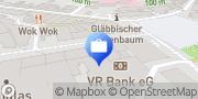 Karte R+V Versicherung Bergisch Gladbach, Deutschland