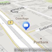 Karte ERGO Versicherung Kazanfer Türk Bonn, Deutschland