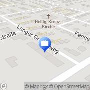 Karte Versicherungskanzlei Bonn, Deutschland
