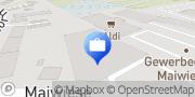 Karte HUK-COBURG Versicherung Nadja Brauer in Birkenfeld Birkenfeld, Deutschland