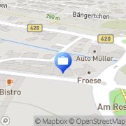 Karte HUK-COBURG Versicherung Susanne Burchert in Kusel Kusel, Deutschland