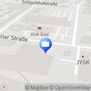Karte Bader Alexander Versicherungsbüro Lörrach, Deutschland