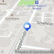 Karte Aida Immobilien Lörrach, Deutschland