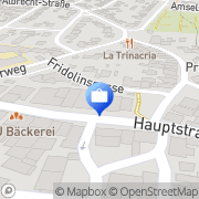 Karte R+V Versicherung Lörrach, Deutschland