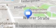Karte SV SparkassenVersicherung: Geschäftsstelle SV-Team Wiesental-Felix Schreiber Schopfheim, Deutschland
