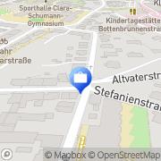 Karte eldatax StbG mbH Lahr/Schwarzwald, Deutschland