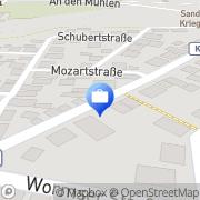 Karte AdminDomus Monsheim, Deutschland