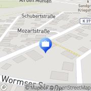 Karte Brühl & Partner Monsheim, Deutschland