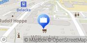 Karte Volksbank Hellweg eG, Filiale Warstein-Belecke Warstein, Deutschland