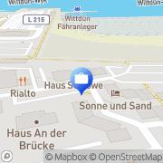 Karte ERGO Versicherung Tanja Martfeld Wittdün auf Amrum, Deutschland