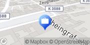 Karte AOK Baden-Württemberg - KundenCenter Philippsburg Philippsburg, Deutschland