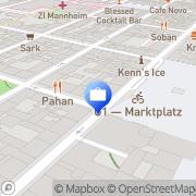 Karte OYAK Anker Bank GmbH Mannheim, Deutschland