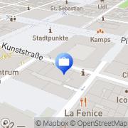 Karte comdirect private finance Mannheim, Deutschland