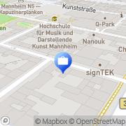 Karte Hüseyin Salan Mannheim, Deutschland