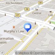 Karte HUK-COBURG Versicherung - Geschäftsstelle Mannheim Mannheim, Deutschland