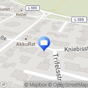 Karte Finanzgutachter Peter Fuchs, Dipl.-Kaufmann Karlsruhe, Deutschland