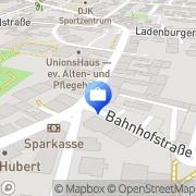 Karte Deutsche Post Mannheim, Deutschland