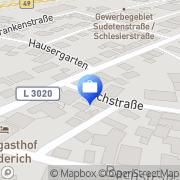 Karte Volksbank Mittelhessen Wetzlar, Deutschland