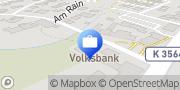 Karte VR Bank Enz plus eG - Geschäftsstelle Auerbach Karlsbad, Deutschland